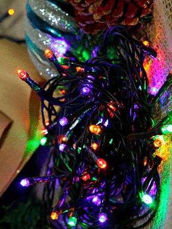 CORDÃO LUMINOSO LED | 500 LEDS 127V | 8 FUNÇÕES