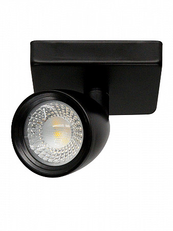 SPOT LED DIRECT MR16 4W PRETO | BASE LINEAR