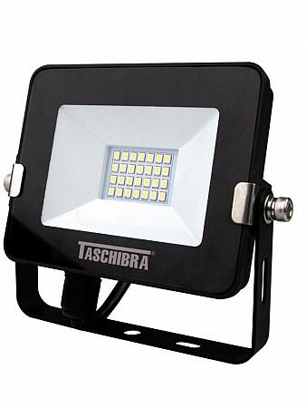 REFLETOR LED 10W 6500K PRETO