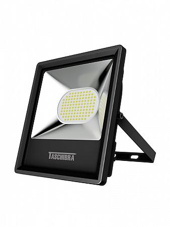 REFLETOR LED TR 70W PRETO