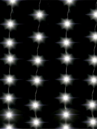 CORTINA LUMINOSA LED | 200 LEDS 127V | 8 FUNÇÕES - SIMÉTRICA