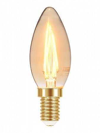 LÂMPADA LED FILAMENTO VINTAGE B35 VELA 3W ÂMBAR E14