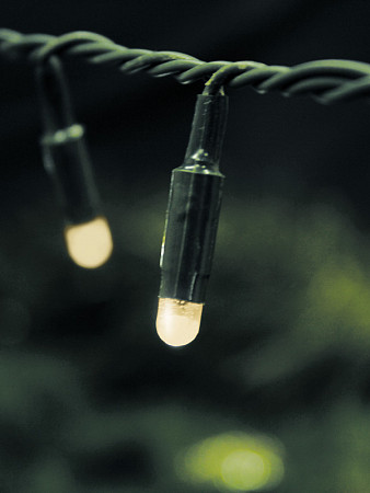 CORDÃO LUMINOSO LED | 96 LEDS 3000K | ESTÁTICO | ISOLAÇÃO VERDE | C/PLUGUE FÊMEA