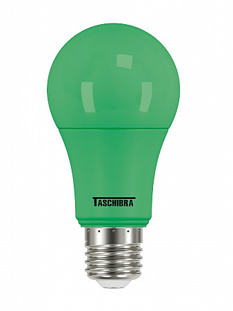 LÂMPADA LED TKL COLORS 5W VERDE E27