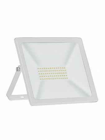 REFLETOR LED TR SLIM 50W BRANCO