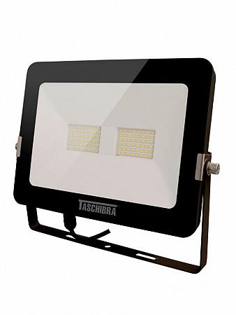 REFLETOR LED 50W 6500K PRETO