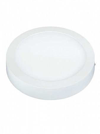 PAINEL LED LUX 6W REDONDO | SOBREPOR