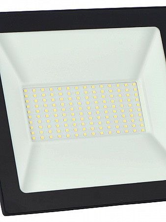 REFLETOR LED TR SLIM 100W PRETO