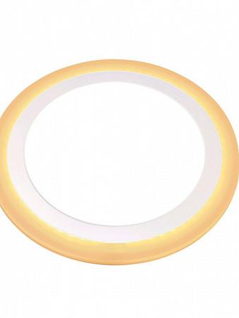PAINEL LED DUAL COLOR 12W+4W EMBUTIR