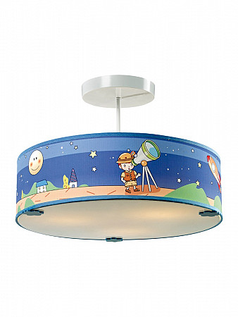 PENDENTE KIDS SPACE 3XE27