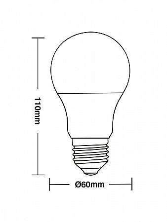 LÂMPADA LED TKL 35 / 4,9W E27
