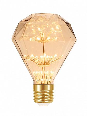 LÂMPADA LED FIREWORKS VINTAGE D95 2W AMBAR E27