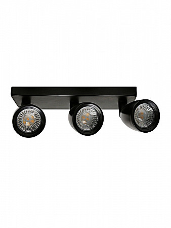 SPOT LED DIRECT MR16 12W PRETO | BASE LINEAR