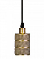 PENDENTE DOT METAL ROCK 1XE27