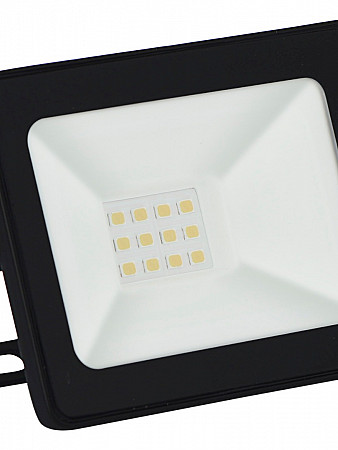 REFLETOR LED TR SLIM 10W PRETO