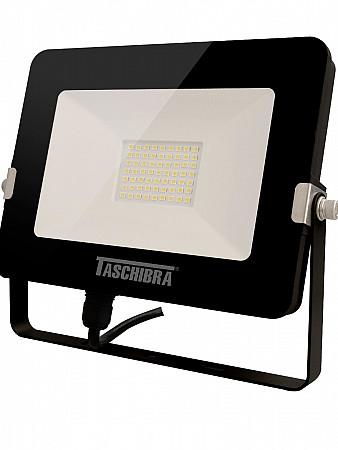 REFLETOR LED 30W 3000K PRETO